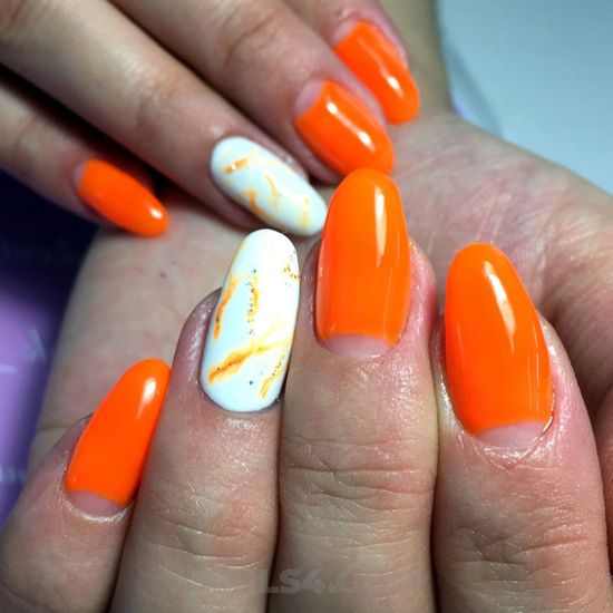 Feminine and inspirational acrylic nail art - nail, elegant, gel