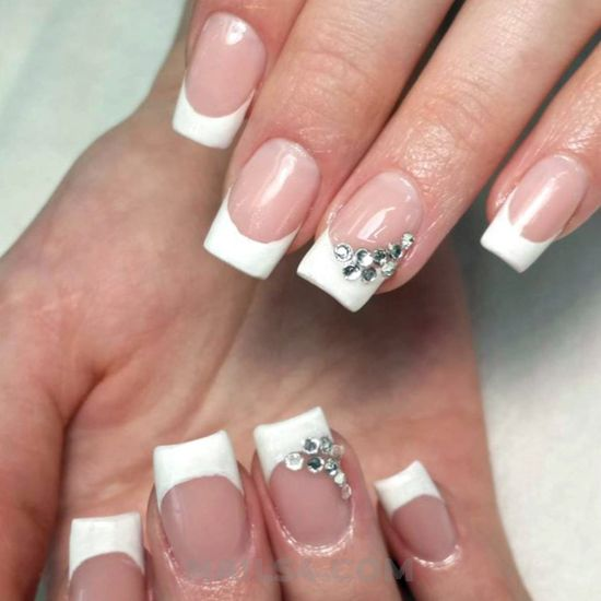 Fresh & inspirational manicure design - glamour, nails, delightful, star, top