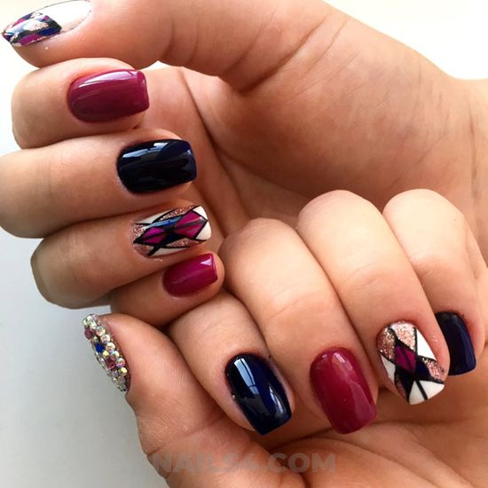 Fresh & stately gel nails ideas - plush, style, naildesigns, nail, best