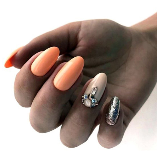 Girly and neat nails design - selfnail, getnails, weekend, nail