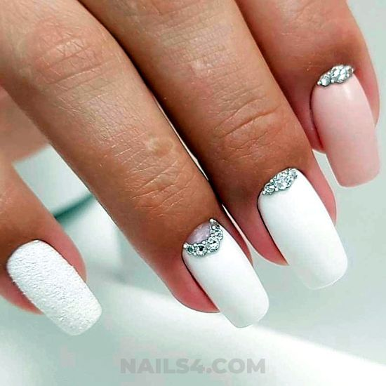 Girly hot nails design ideas - nails, goingout, charming