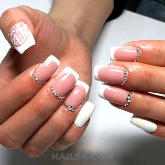 Girly & incredibly design ideas - teen, elegant, nailstyle, nail, love