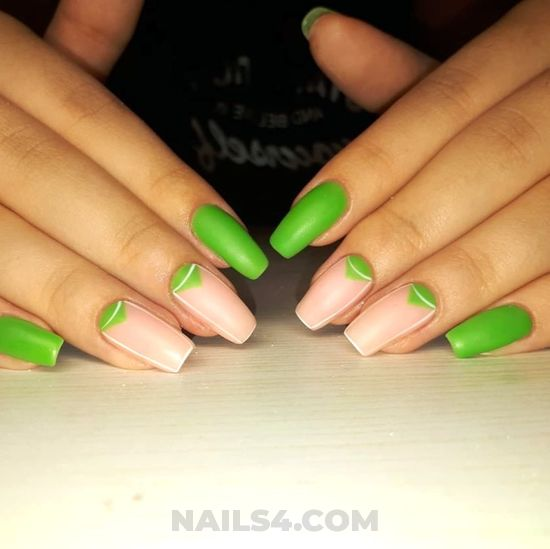 Girly pretty acrylic nails design - nailartideas, nails, cutie, awesome