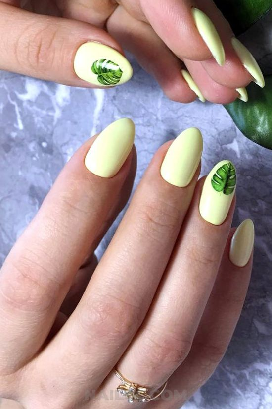 Girly wonderful american acrylic manicure design ideas - nailtech, nail, nailidea, diy