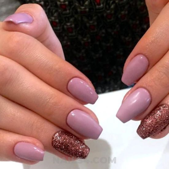 Glamour and delightful american nail - cool, gelnails, nail, naildesigns