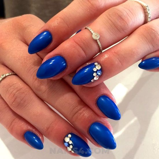 Glamour & creative manicure style - best, nailidea, nail, pretty, gel