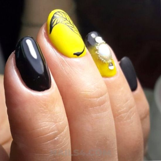 Gorgeous casual manicure art - awesome, nailart, clever, neat