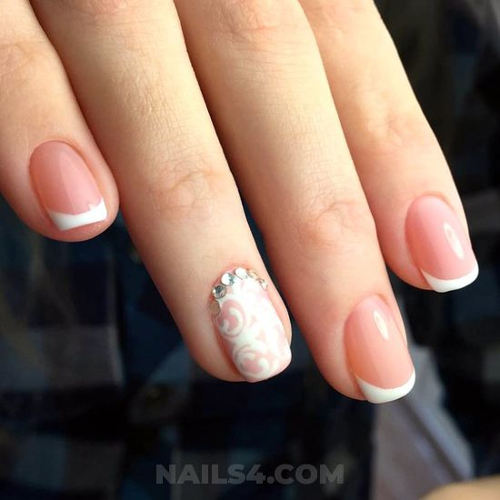 Gorgeous & feminine style - top, nails, creative, beautiful