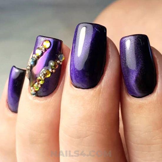 Graceful acrylic manicure idea - lovable, nailideas, nailart, gel
