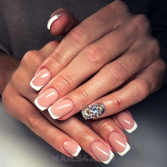 Graceful and fantastic nails idea - handsome, awesome, nail, naildesign