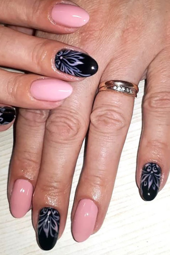 Graceful classic design - trendy, lifestyle, nails, enchanting