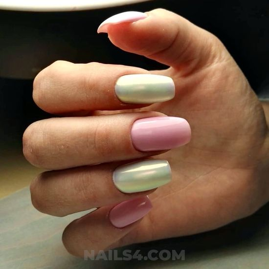 Graceful classy american nails idea - artful, beautytutorial, sexy, nails