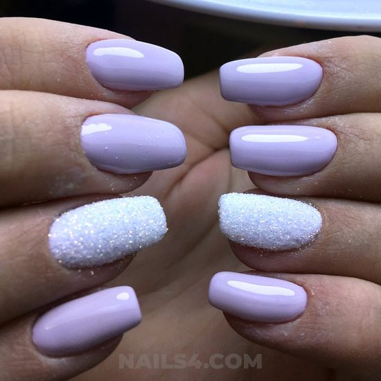 Handy and enchanting acrylic manicure design ideas - nailidea, nail, lovely, cunning