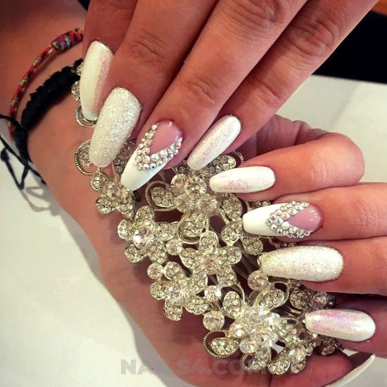 Iconic & cool american gel nail art design - creative, handsome, nail, perfect