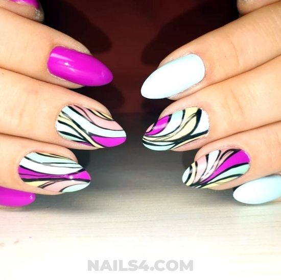 Inspirational and cutie gel manicure - nailart, hollywood, glamour, simple