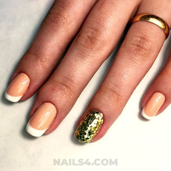 Inspirational & cool gel nails style - nailart, getnails, art, elegant, neat