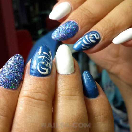 Lovable and chic manicure ideas - nail, idea, enchanting, selfnail