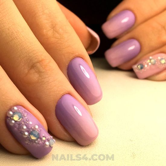Lovely adorable manicure - nail, classic, selfnail, lifestyle