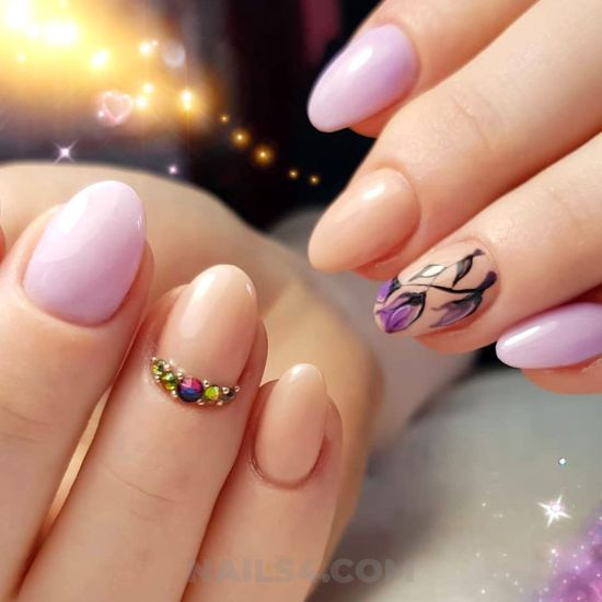 Lovely colorful american acrylic nails ideas - cool, fashionable, nail, adorable