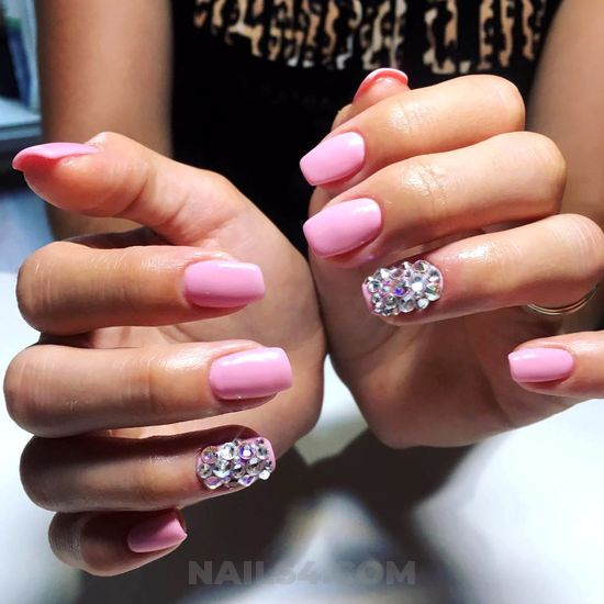Lovely & fashionable acrylic nails style - attractive, nail, nice