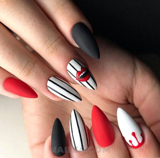 My awesome and simple art design - design, nailstyle, nailart, clever
