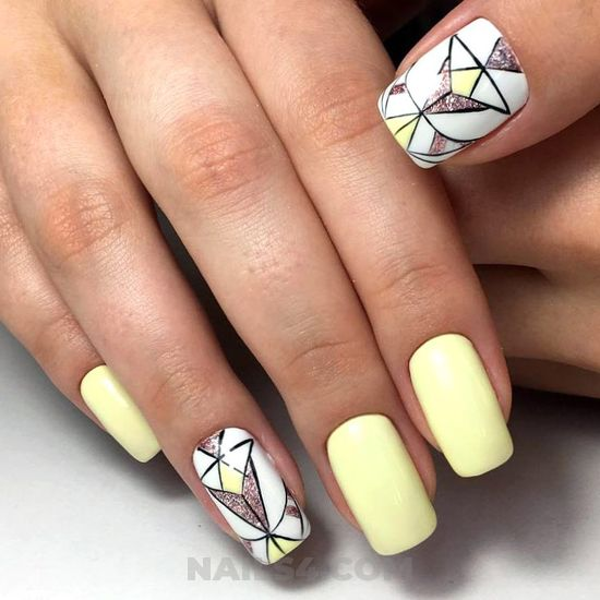 My beautiful & glamour acrylic nails ideas - nails, naildesign, star, top, cutie