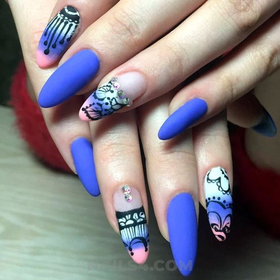 My casual & easy gel nail ideas - nails, cutie, fashionable, style