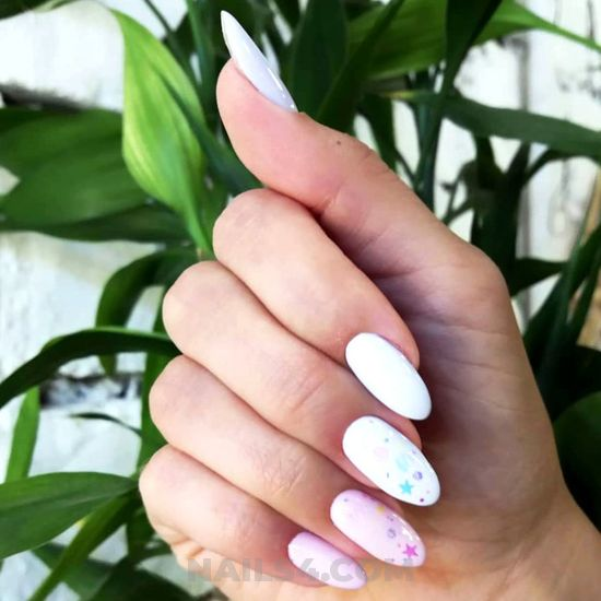 My creative and neat parisian gel manicure trend - beautytips, art, glamour, top, nails