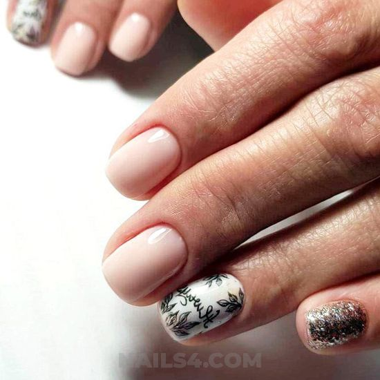My feminine and graceful acrylic manicure idea - nailart, best, getnails, magic, super