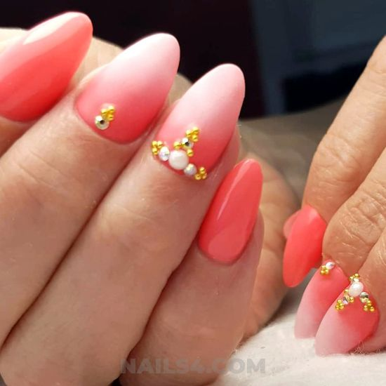 My handy dreamy american gel nails art ideas - nails, pretty, hollywood