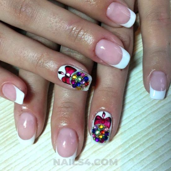 My pretty and balanced acrylic manicure design ideas - naildesign, nail, loveable, party