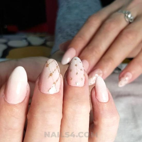 My trendy & casual gel manicure trend - gotnails, ideas, nailart, diynailart