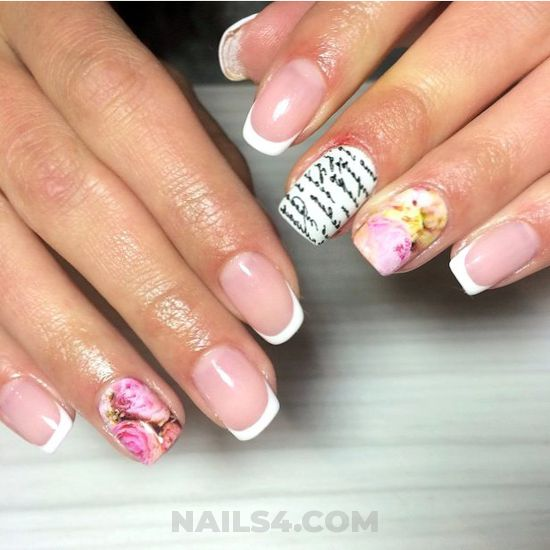 My trendy & delightful acrylic manicure - ideas, dainty, nailartdesign, nails