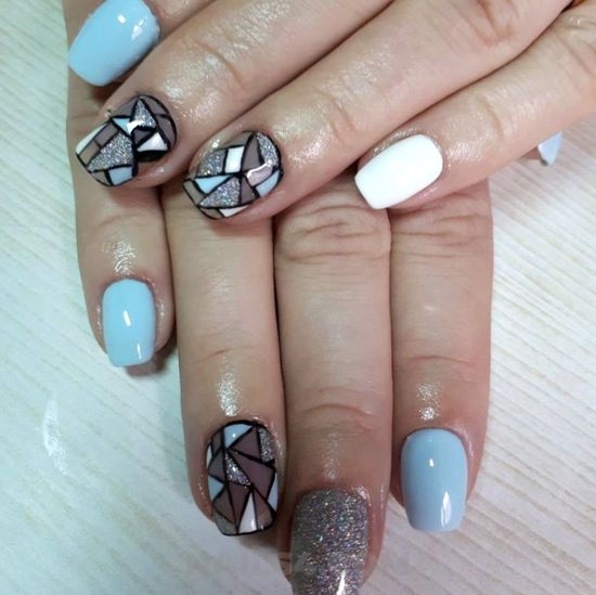 My trendy delightful american gel manicure art ideas - photoshoot, clever, selection, nails