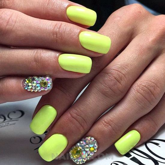 My wonderful fashionable gel manicure art ideas - gel, nailart, cutie, lovely