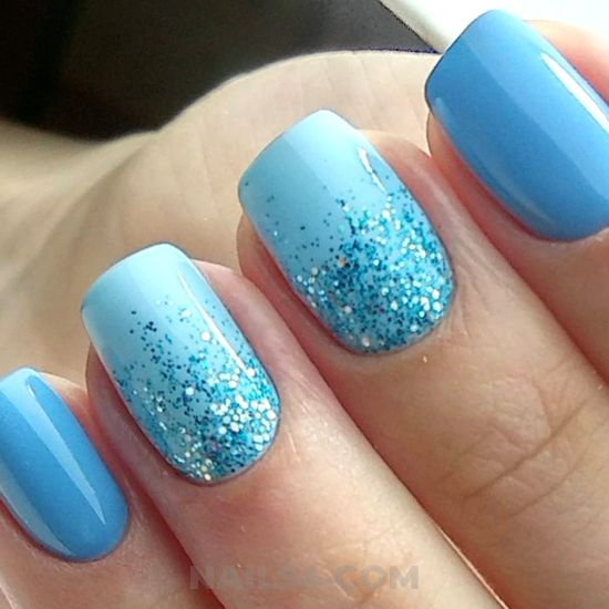Nice fashion gel nail style - classic, nail, loveable, furnished