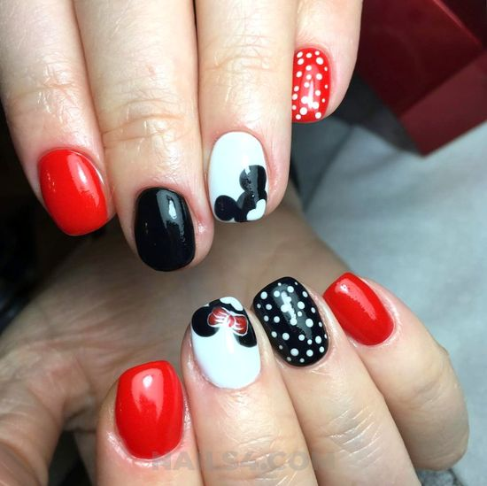 Orderly and best nails - style, nail, nailidea, dainty