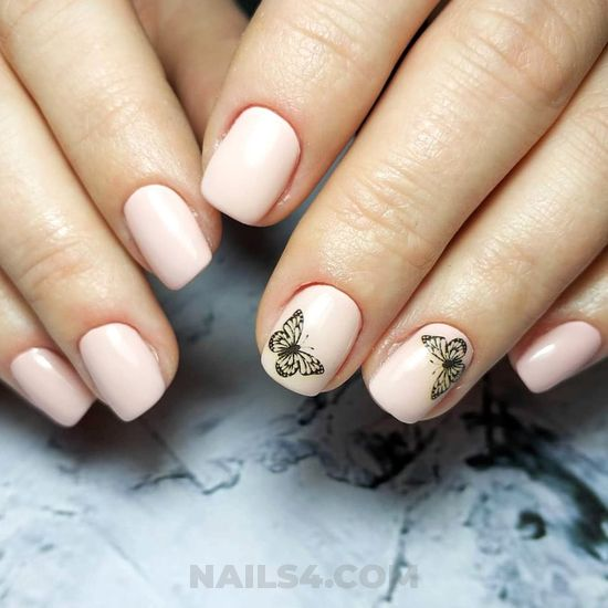 Perfect and fashionable manicure trend - getnails, dainty, nail, naildesigns