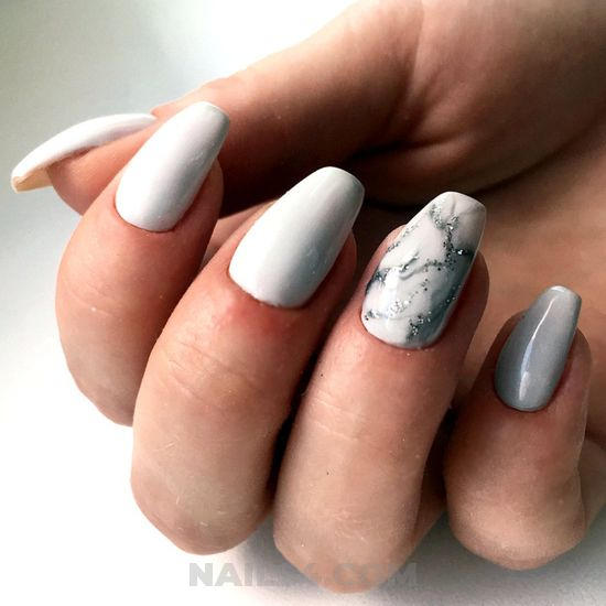 Perfect & awesome gel nails idea - creative, nail, handsome, loveable