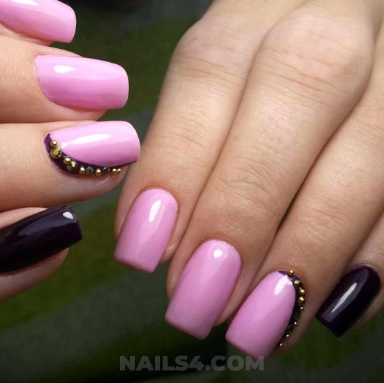 Perfect & girly gel manicure art ideas - lifestyle, nailstyle, nails, shiny