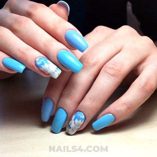 Pretty & classic manicure design - clever, art, sexy, nail, naildesign