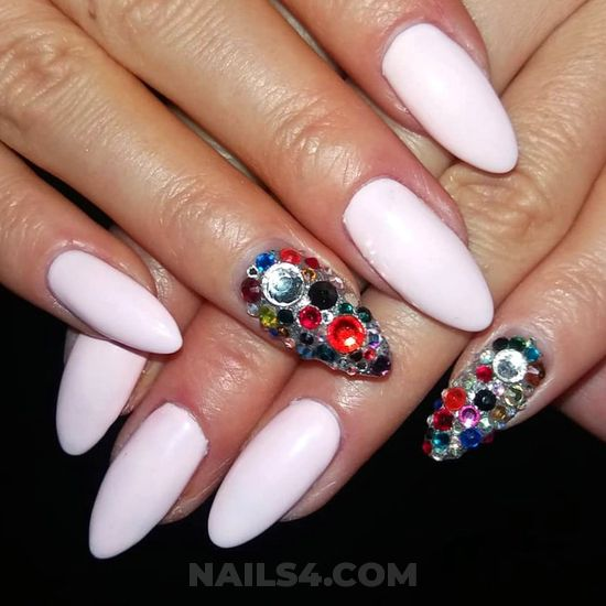 Professionail delightful manicure art design - nailart, magic, charming, precious