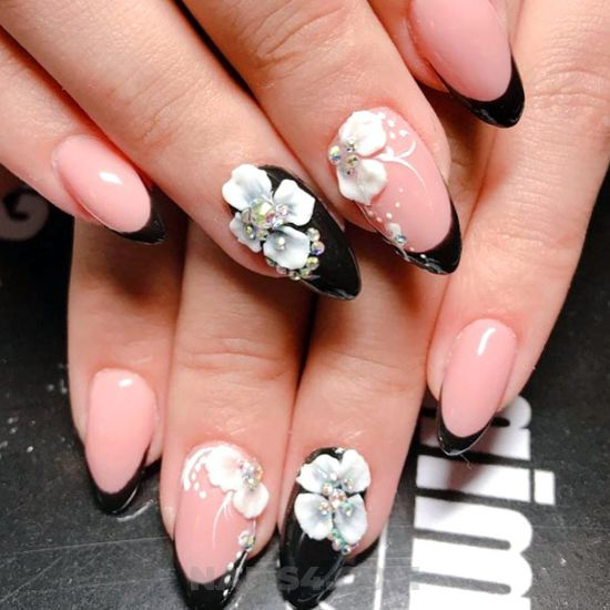 Stately attractive acrylic manicure design ideas - creative, furnished, nailart