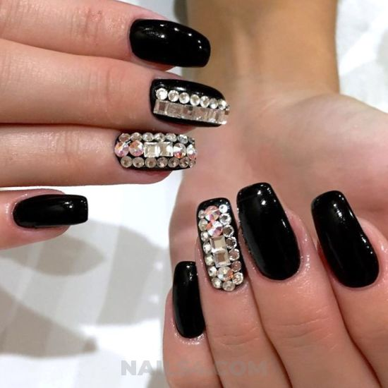 Stately & cool style - dreamy, nice, gel, nailart