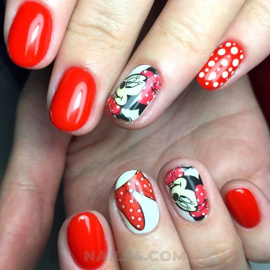 Super best gel nail trend - nailartideas, nail, simple, cute, art