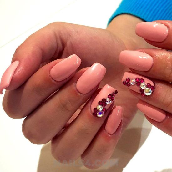 Super charming acrylic nails idea - nailswag, attractive, handsome, nail