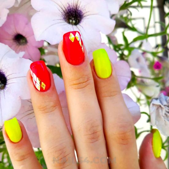 Trendy & awesome gel manicure art - acrylic, nails, nailidea, sweetie