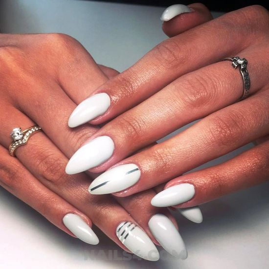 Unique and fashionable manicure ideas - gel, nail, diynailart, sexiest