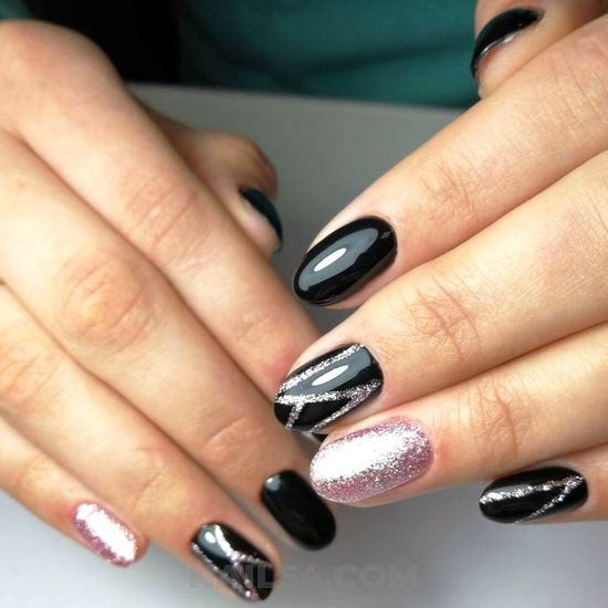 Wonderful and attractive gel nails idea - best, glamour, design, nailart, sexy
