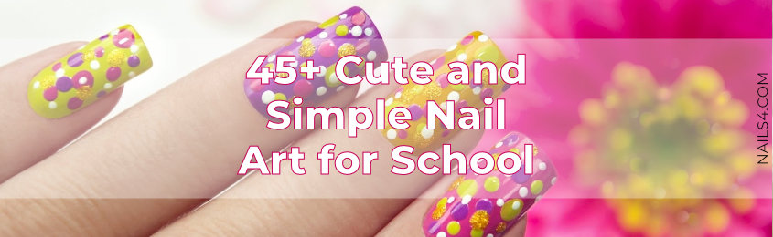 45-Cute-and-Simple-Nail-Art-for-School